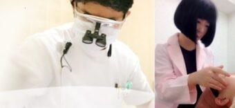 歯科医院で顔の歪みを治すコルギ