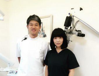 歯科院内でコルギ(骨気)
